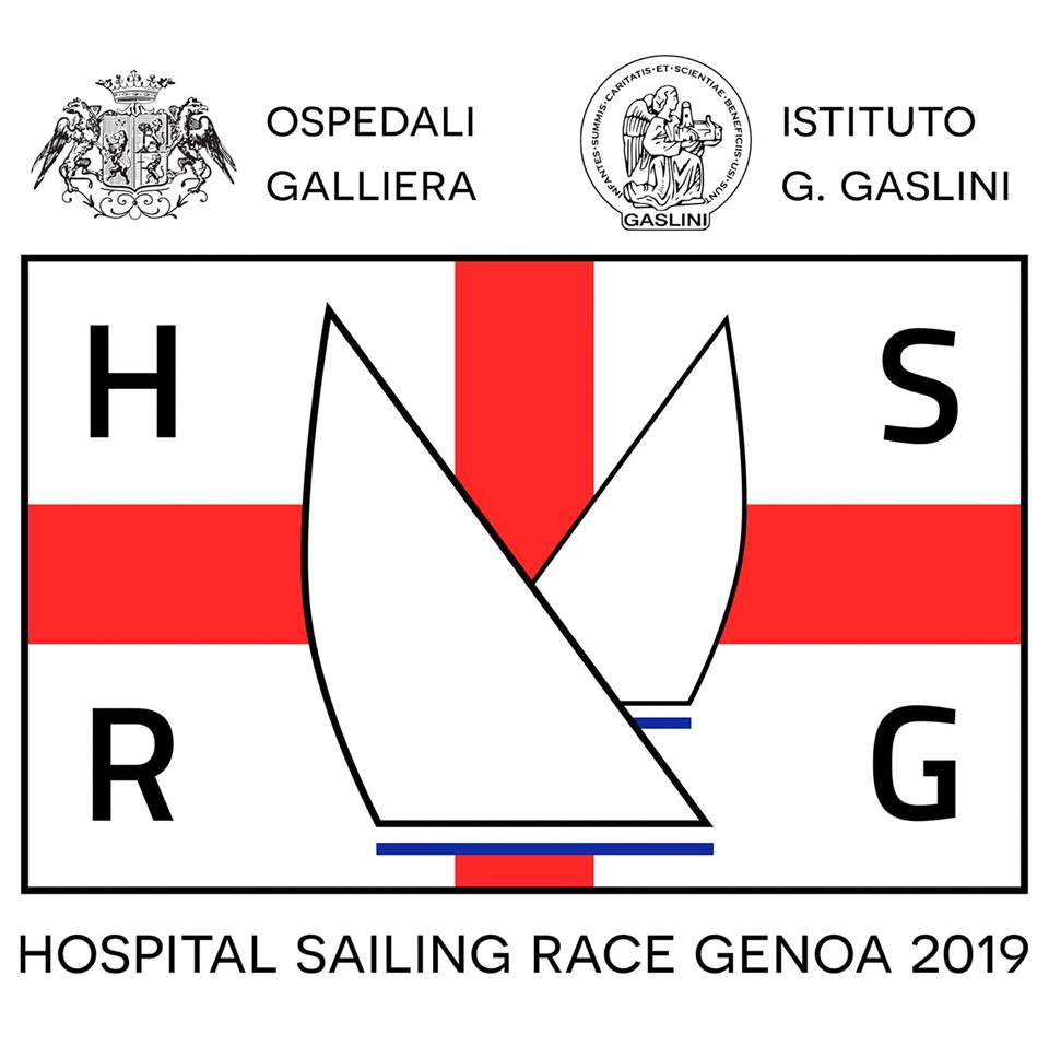 logo hospital sailing race 2019